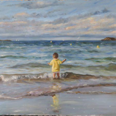 Jean au bord de l'eau