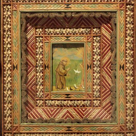Miniature de saint François d'Assise