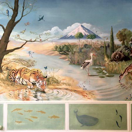 Fresque du paradis